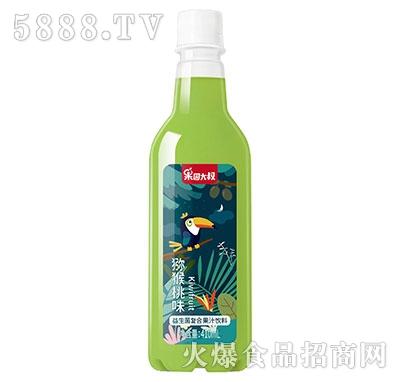 果园大叔益生菌猕猴桃汁饮料410ml