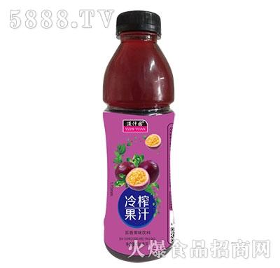 溢汁园冷榨百香果汁500ml