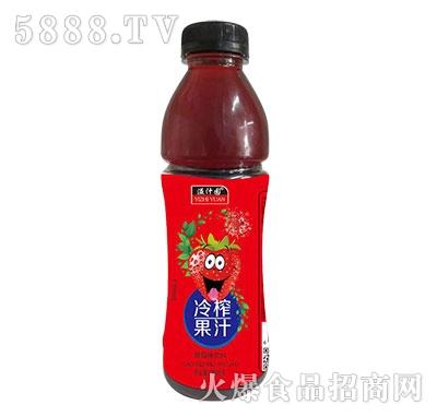 溢汁园冷榨草莓汁500ml