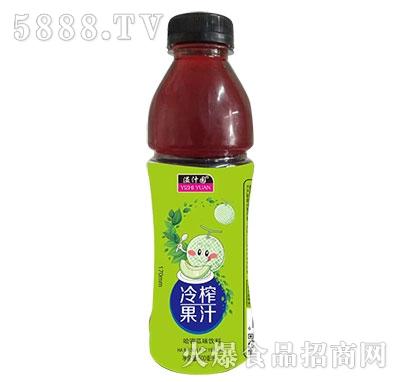 溢汁园冷榨哈密瓜汁500ml