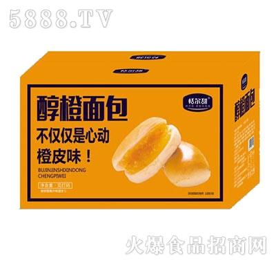 恬尔甜醇橙面包橙皮味箱装