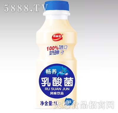 活益优畅养乳酸菌风味饮品原味1L