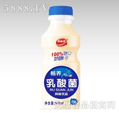 活益优畅养乳酸菌风味饮品原味340ml