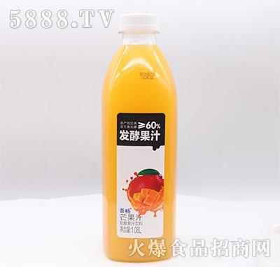 吾畅芒果汁发酵果汁饮料1.08L
