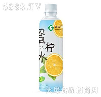 果浓蜜柠水果味饮料柠檬味500ml