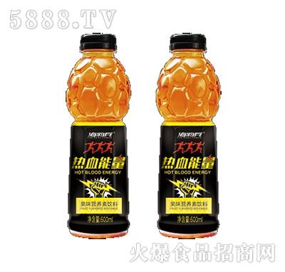 海豹兵热血能量果味营养素饮料600ml