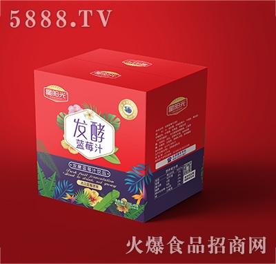 星阳光发酵蓝莓汁饮料1.25Lx6瓶