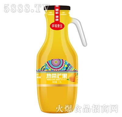 幸福壹生热带芒果汁1.5L