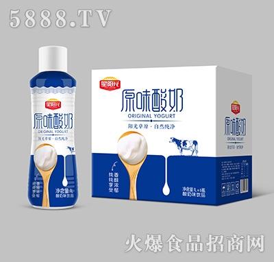 星阳光原味酸奶饮品1Lx6瓶