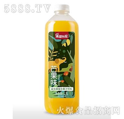 果园大叔益生菌复合芒果汁1.5L瓶