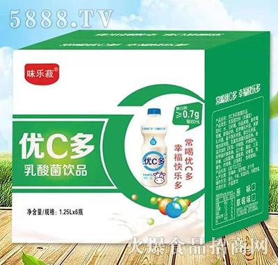 优C多乳酸菌饮品1.25Lx6瓶
