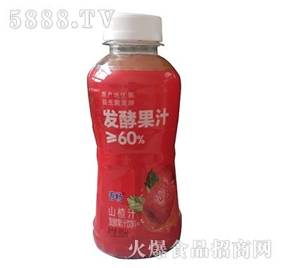 吾畅山楂汁复合果汁饮料380ml