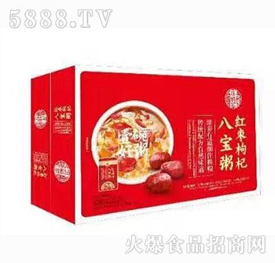 庄锦记红枣枸杞八宝粥箱子装