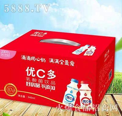 优C多乳酸菌饮料340ml手提装