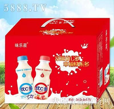 优C多乳酸菌饮料340mlx12瓶