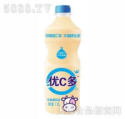 优C多乳酸菌饮料1.25L