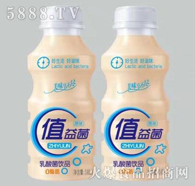值益菌乳酸菌饮料原味340ml瓶