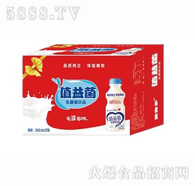值益菌乳酸菌饮料340mlx12瓶