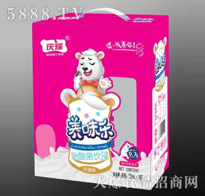 养味乐乳酸菌饮料(礼盒装)