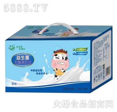 帅盾益生菌乳酸菌饮料200mlX24
