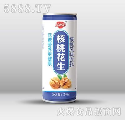金娇阳核桃花生风味饮料240ml