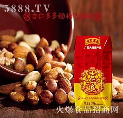广药大健康产品吉仁多植物蛋白饮料200ml