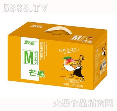 宜泉益生菌芒果复合果汁饮料330mlx12瓶