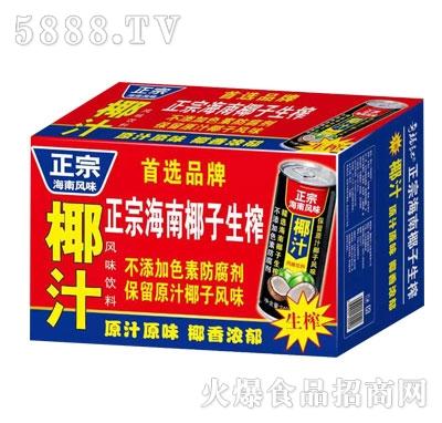 正宗海南风味椰子汁(箱)
