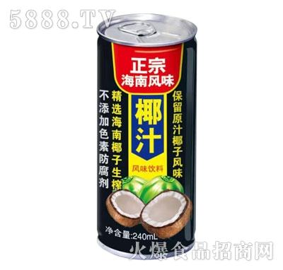 正宗海南风味椰子汁240ml