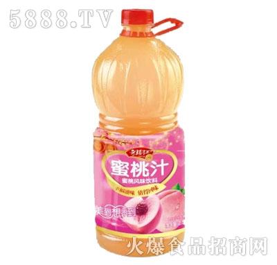 奇福记蜜桃汁2.58L