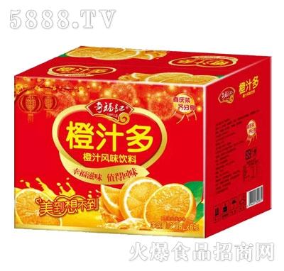 奇福记橙汁多2.58LX6