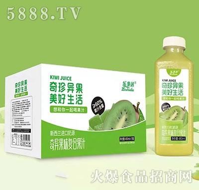 乐事达奇异果味复合果汁480mlx15