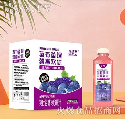 乐事达复合莓味复合果汁1.25Lx6