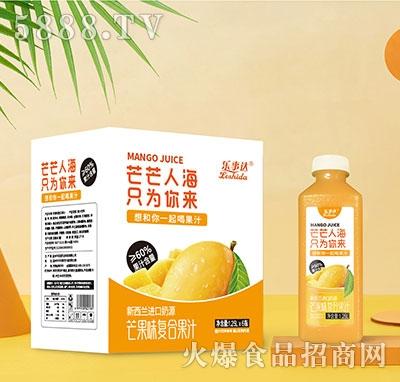 乐事达芒果味复合果汁1.25Lx6