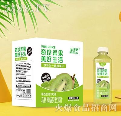 乐事达奇异果味复合果汁1.25Lx6