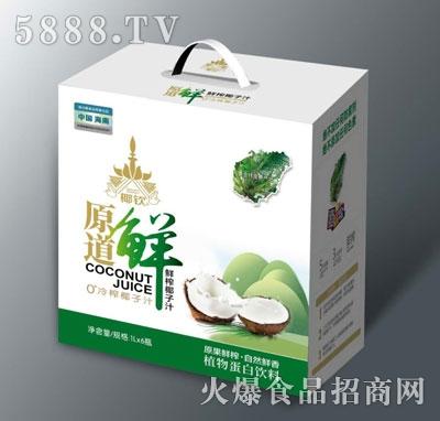椰钦原道鲜榨椰子汁1LX6