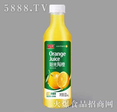 千亿浓阳光鲜橙果肉饮品920ml