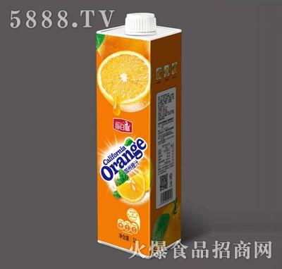 每日椰加州橙汁1L