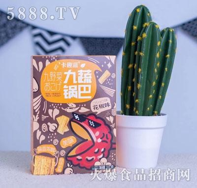 卡趣滋九蔬锅巴花椒味110g