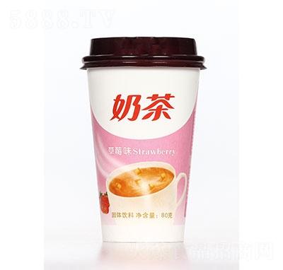 飘飘缘奶茶草莓味80克