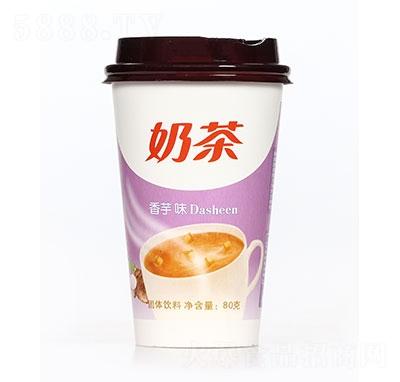 飘飘缘奶茶香芋味80g
