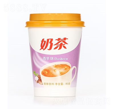 飘飘缘奶茶香芋味80克