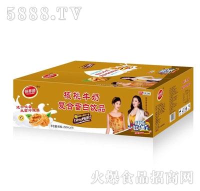 恒养道核桃牛奶复合蛋白饮品250mlX16