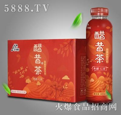 酷昔茶果醋红茶480mlX15