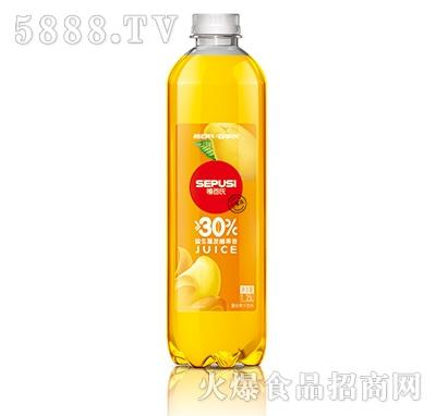 禧百氏益生菌发酵果昔芒果味1.25L