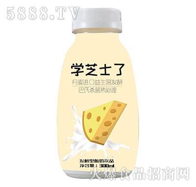 学芝士了发酵型芝士酸奶300ml