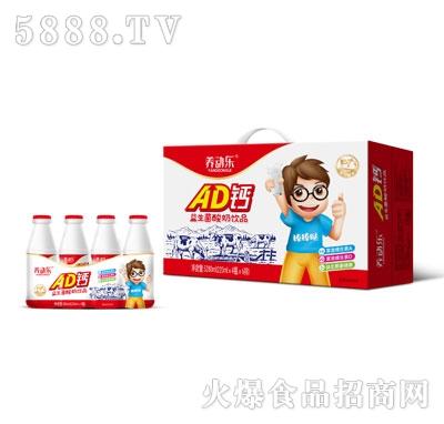 养动乐AD钙益生菌酸奶饮品220mlX4瓶X6排