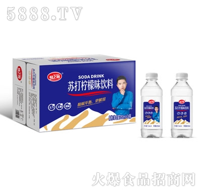 情之润苏打柠檬味饮料350mlX24