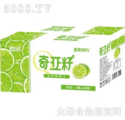 宜泉奇亚籽青柠味果汁430ml×15瓶