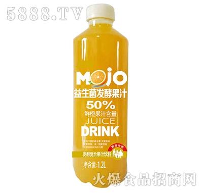 果然高益生菌发酵鲜橙复合果汁